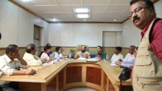Mr.Prakash Javadekar at UNI HQ 2