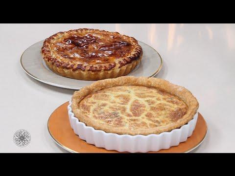 Recette Choumicha: Tarte fromage et Tourte poulet