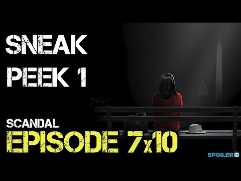 "Scandal 7x10 Sneak Peek ""The People v. Olivia Pope"" Season 7 Episode 10"