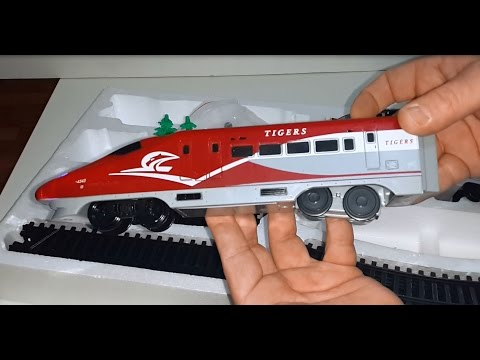 Fastest High Speed Train opening toy box reviews