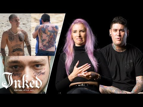 14 Tattoo Artists Try to Figure Out Why Celebrities Get Bad Tattoos   INKED Talk_Legjobb videók: Celebek