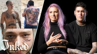 Video 14 Tattoo Artists Try to Figure Out Why Celebrities Get Bad Tattoos | INKED Talk MP3, 3GP, MP4, WEBM, AVI, FLV Oktober 2018