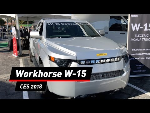 Workhorse W-15: Elektrischer Pick-up-Truck aus den  ...