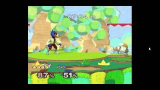 People often ask how hard it is to play melee netplay. Thought i'd upload a match of my fox vs a falco from a state away. nothing special but you get an idea of what it's like.