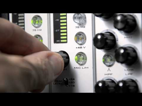 THE NEW APHEX 500 SERIES - MIC PRES: SHARED FEATURES