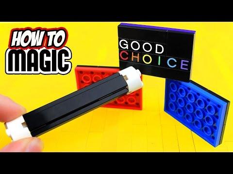 7 EASY LEGO MAGIC TRICKS