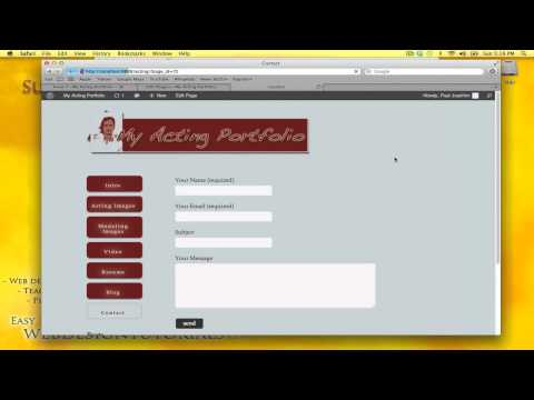 how to change email address wordpress contact form