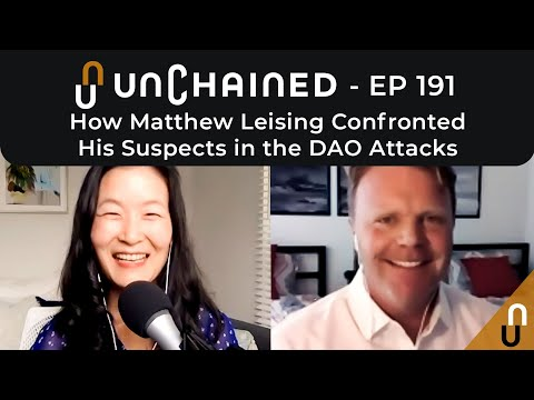 How Matthew Leising Confronted His Suspects in the DAO Attacks - Ep.191