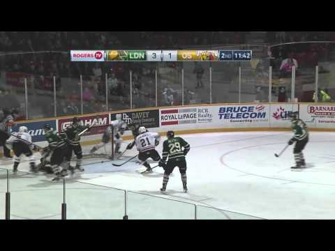 Owen Sound Attack vs London Knights OT Win