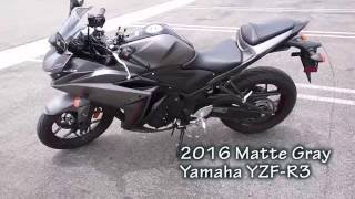 10. 2016 Yamaha YZF R3 Walk Around - Vlog #9