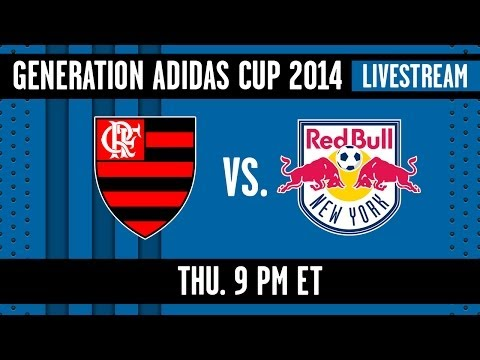 Red - The U-17's of Flamengo are facing off against the U-17's of the NY Red Bulls in the Generation adidas U-17 tournament taking place in Frisco, TX on Apr. 17, ...
