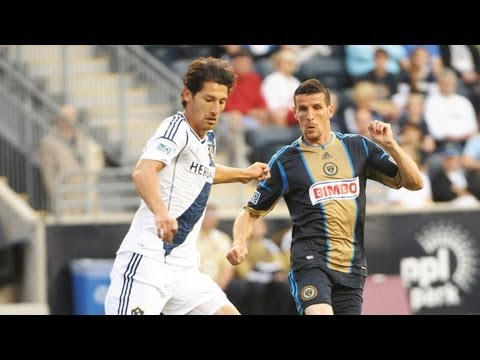 HIGHLIGHTS: Philadelphia Union vs. LA Galaxy | May 15, 2013_Labdargs MLS videk. Heti legjobbak
