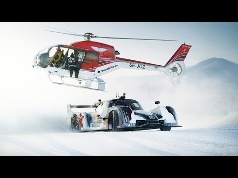 Jon Olsson   Drifting In Snow with 600 Horsepower Rebellion R2K Supercar