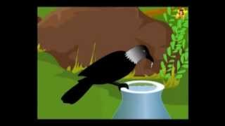 Short moral stories for kids | The thirsty crow