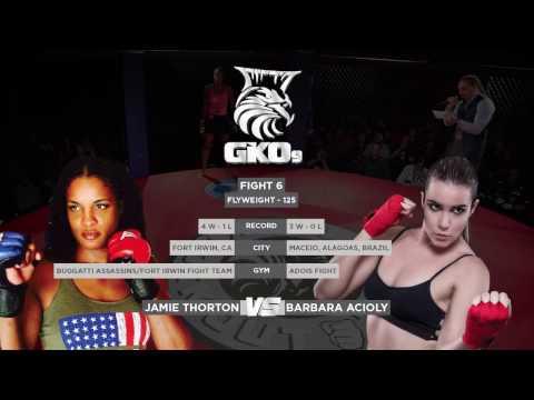 MMA - Bárbara Acioly x Jamie Thorton - GKO9