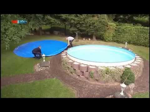 Die aufblasbare Pool Abdeckung   MDR Einfach genial   13 09 2011 360p