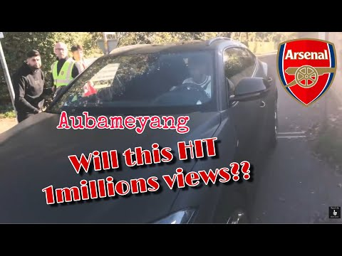 Arsenal Player Car Pierre-Emerick Aubameyang Mesut Özil Lucas Torreira (Forget The Player Name Lol)