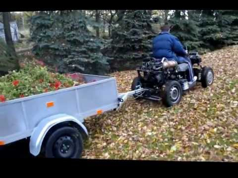 Traktorek SAM 126p przełożenie 4:1