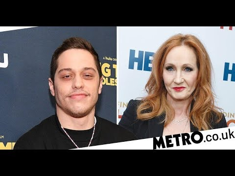 Pete Davidson tears into JK Rowling's 'very disappointing' trans comments on SNL