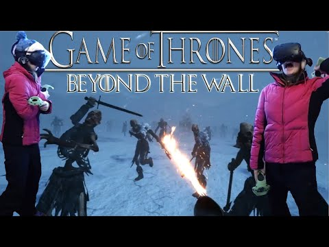 Game of Thrones: Beyond The Wall - Virtual Reality Experience - WATCH ME FIGHT A HUGE ZOMBIE BEAR!!!