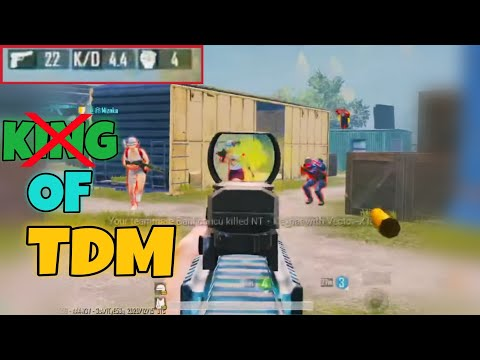 I'm Not King of TDM | Practice Agile Gameplay in TDM | PUBG MOBILE