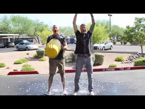 Ben & Matt Take The Ice Bucket Challenge!