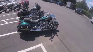 3. Test ride of the Indian Springfield (6/29/18)