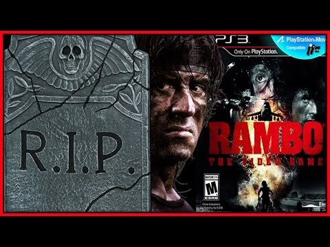 video review - Rambo is your Worst Nightmare...so is this game. However; it's nice to know PS2 is still making Games. PS2 rip is sarcasm, folks. Rambo the videogame review....