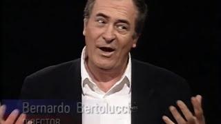 Bernardo Bertolucci interview on Charlie Rose (1994)