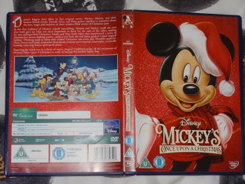 Start Of Disney's Mickey's Once Upon A Christmas (film 1999)(DVD UK)