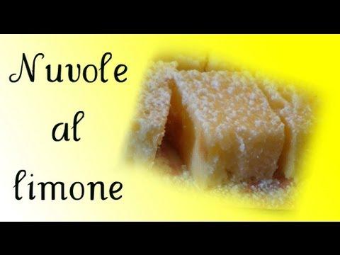 nuvole al limone - ricetta