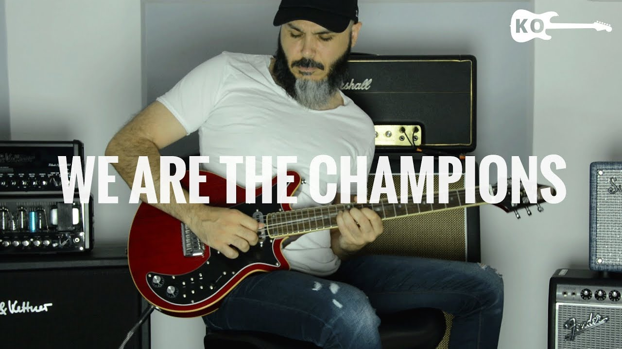 Queen – We Are The Champions – Electric Guitar Cover by Kfir Ochaion