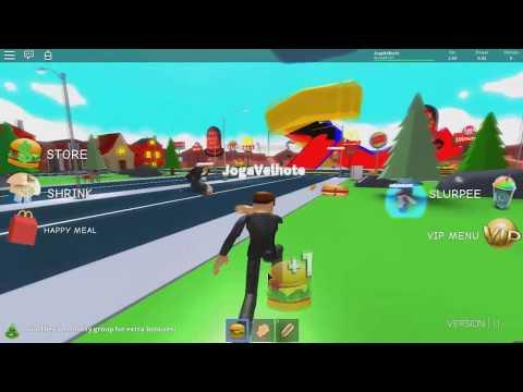 ROBLOX: A TERRA DOS HAMBÚRGUERES E CACHORROS-QUENTES! (Super Fat Simulator 2)