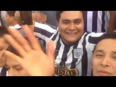 Noche Blanquiazul 2016/ tribuna sur - Comando SVR - Alianza Lima