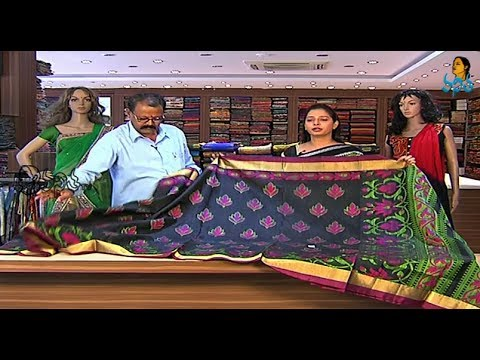 Latest Pattu Fancy Sarees Collection - Sogasu chooda tarama 20 February 2014 12 PM