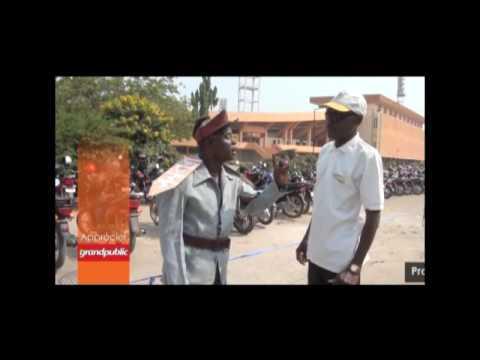 Les gardes vélos au Bénin.