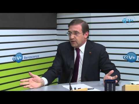 Pedro Passos Coelho em Entrevista à Rádio Renascença (versão completa)