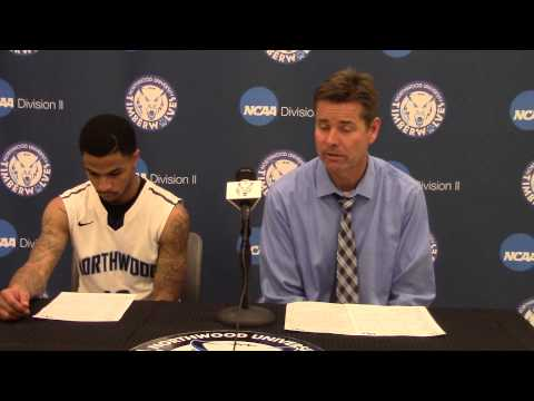 Northwood University Men's Basketball (12/13/14) NU 62, Malone 56 - Press Conference