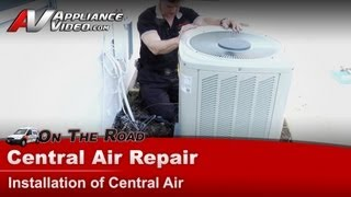 Video Central Air Conditioner Repair - Installing a Central Air Unit MP3, 3GP, MP4, WEBM, AVI, FLV Juni 2018