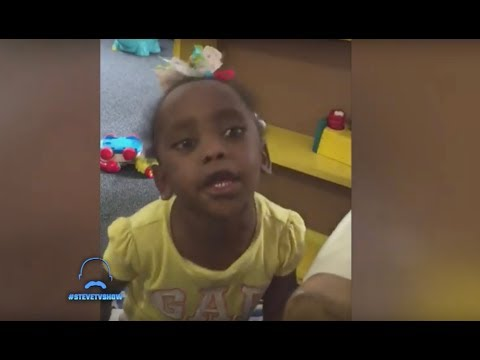 A Toddler Has Some Adult Attitude || STEVE HARVEY