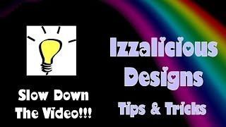 Rainbow Loom - Tips&Tricks - YOU ARE GOING TOO FAST!!! How To Slow Down Your Video