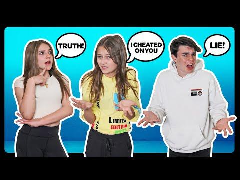 2 TRUTHS AND 1 LIE Challenge!! BOYFRIEND TAG **DID WE BREAK UP?**💔🤔 | Sophie Fergi
