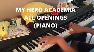 Download Lagu Boku no Hero Academia Medley - All Openings (Piano) Mp3