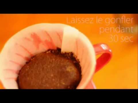 comment préparer un café filtre