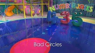 NUMBERJACKS | Bad Circles | S1E30