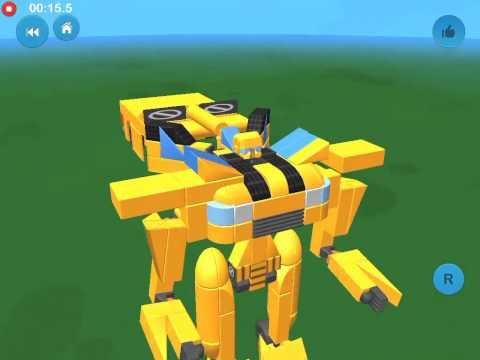 Blocksworld- Bumble Bee (not Moveable) - created by Charlesmegaxkill18