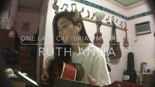 One Last Cry (Brian McKnight) Cover - Ruth Anna