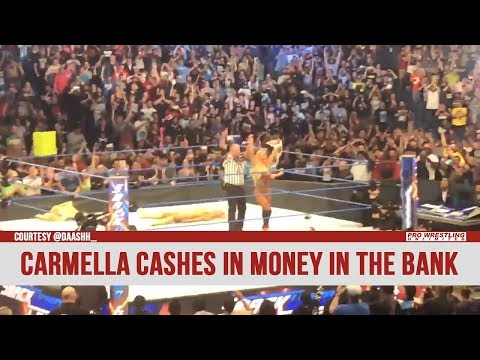 Carmella Cashes In The Money In The Bank Briefcase (VIDEO)