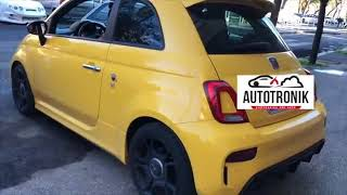 Abarth 595 Pista Stage 1 (+29HP) + Pop&Bang by Autotronik