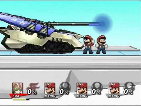 Super Smash Flash 2 v0.8 Final Smashes